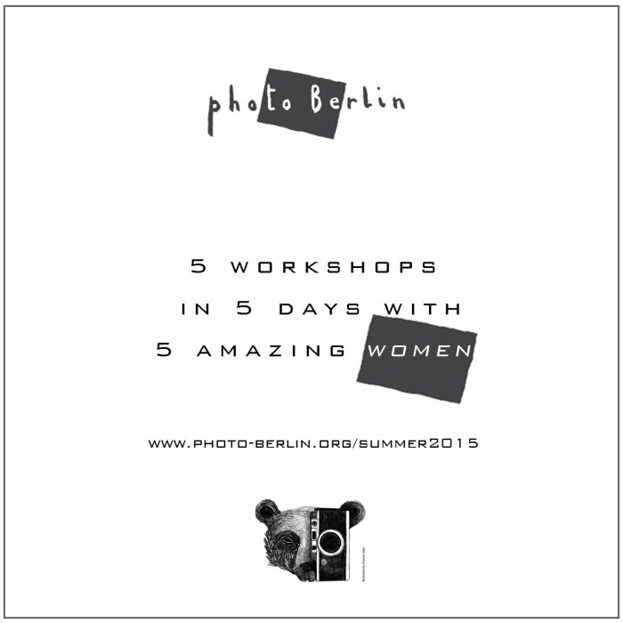 5workshops in 5 days with 5 amazing women